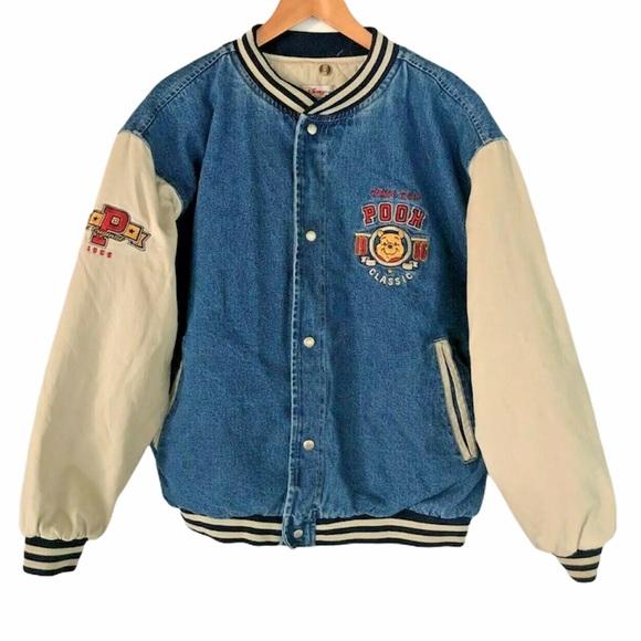 Disney Other - Disney Vintage Varsity Winnie the Pooh Jacket Sz L